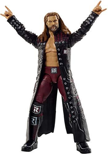 WWE Figura de acción Ultimate Edition, 15,24 cm, con cabeza extra, manos intercambiables, brazos intercambiables y chaqueta de retorno Royal Rumble para edades de 8 años y más