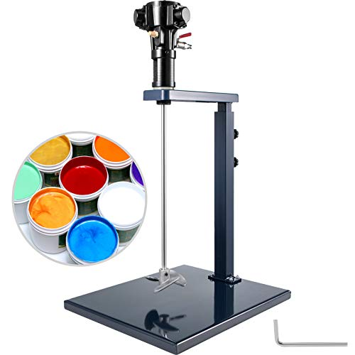 VEVOR Mezclador Neumático, Mezclador de Pintura Manual, Mezclador de Pintura de Taladro, de 20L / 5 Galones