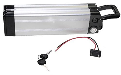 Akku 36V 10,4Ah Lithium Ionen Ersatzbatterie Rahmenakku für E-Bike Pedelec Elektrofahrrad z.B. Prophete Real