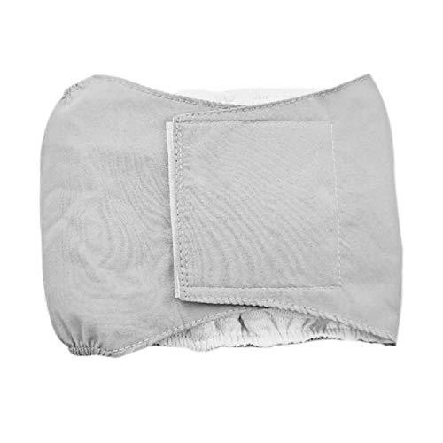 HXKJ Pantalones de pañales Reutilizables para Perros y Mascotas, Pantalones menstruales Transpirables Impermeables, Pantalones Cortos fisiológicos de algodón con Banda para el Vientre