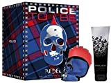 Police To Be Rebel Pour Homme Eau de Toilette Ml.75 + Shower Gel Ml.100