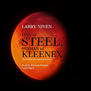 Man of Steel, Woman of Kleenex audiobook cover art
