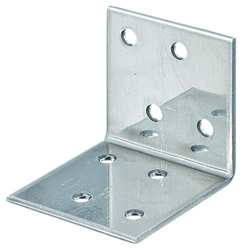 GAH-Alberts 361020 Winkelverbinder | Edelstahl | 40 x 40 x 40 mm | 25er Set