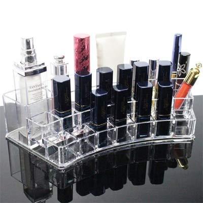 Neue ClearGrids Lippenstifthalter Nagellack Rack Makeup Schöne Organizer Box Desktop Kosmetik Aufbewahrungsbox Makeup Pinsel Regal Display