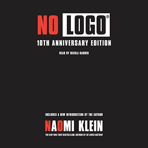 No Logo audiobook cover art