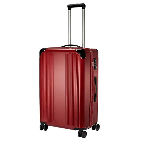 Vino-Voyage 2.0 by Wine Enthusiast TSA-Approved 12-Bottle Wine Suitcase with Integrated Weight Scale