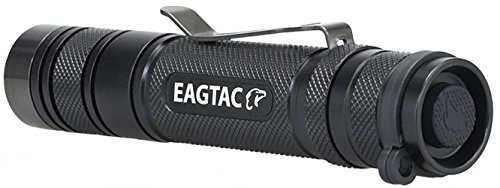 EagleTac D25LC2 CREE XM-L2 U2 850 Lumens Clicky LED Flashlight, Black