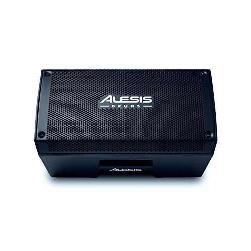 Alesis Strike Amp 8 – 2000-Watt tragbarer Lautsprecher / Verstärker für elektronische Drum Kits mit 8-Zoll Woofer, Contour-EQ und Ground Lift Schalter