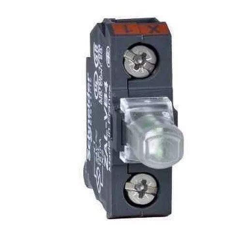 Schneider ZALVB4 Bel.bl. voor bedieningang, ingebouwde LED, 24 V, schroefklemmen, rood, diameter 22 mm