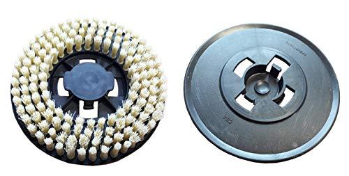 Disco de cepillo amarillo para enceradora Electrolux ZP14, AP8000/Tornado: Chambord LC500C.––Juego de...