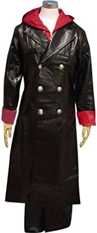 nuevo estilo Sunkee Devil May Cry Dantel costume costume costume CosJugar , hecho a medida, tamaño altura L (165cm-170cm) (por favor dénos su peso, altura, anchura de los hombros, la cintura, el busto y la cadera)  nuevo sádico