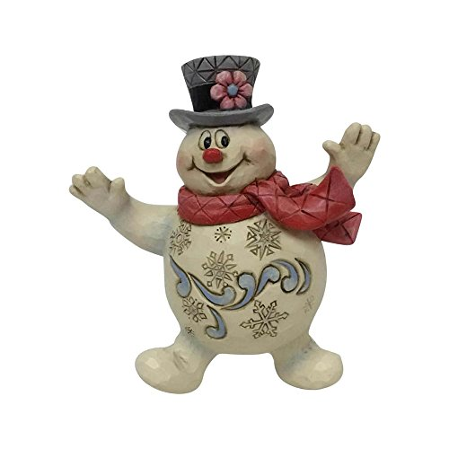 Department56 Enesco Schneemann von Jim Shore Jolly Frosty Ornament