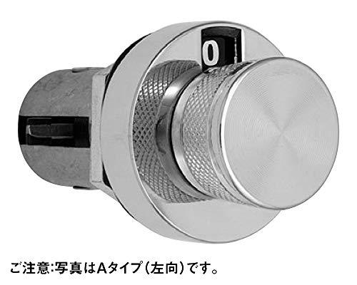 ジョー・プリンス竹下 ミニダイヤル錠 Bタイプ(下向) 1個 L-212 L-212