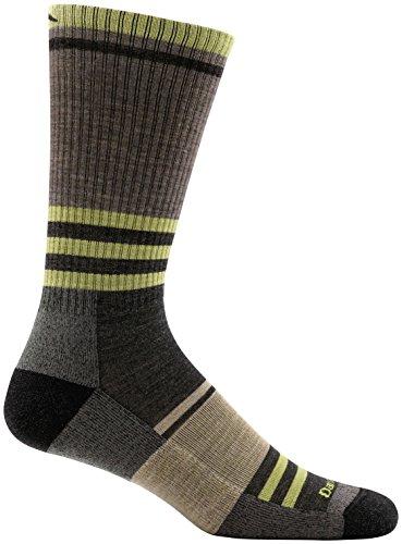 Darn Tough Spur Boot Light Cushion Sock - Men's Brown Medium