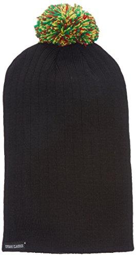 Urban Classics Wintermütze Contrast Bobble Beanie Bonnet Homme, Vert (grün), (Taille Fabricant: One Size)