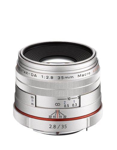 Pentax SMCP-DA 35mm f/2.8 HD Macro Limited Lens - Silver, U.S.A. Warranty