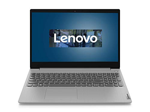 Lenovo IdeaPad 3 Laptop 39,6 cm (15,6 Zoll, 1920x1080, Full HD, WideView, entspiegelt) Slim Notebook (Intel Celeron 5205U, 4GB RAM, 128GB SSD, Intel UHD-Grafik, Windows 10 Home) silber