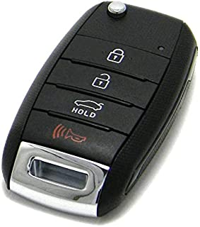 $39 » OEM Electronic 4-Button Remote Flip Key Fob Compatible With 2014-2016 Kia Forte (FCC ID: OSLOKA-870T, P/N: 95430-A7400)
