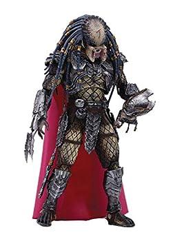 Hiya Toys Aliens vs Predator  Elder Predator 1 18 Scale Action Figure Multicolor