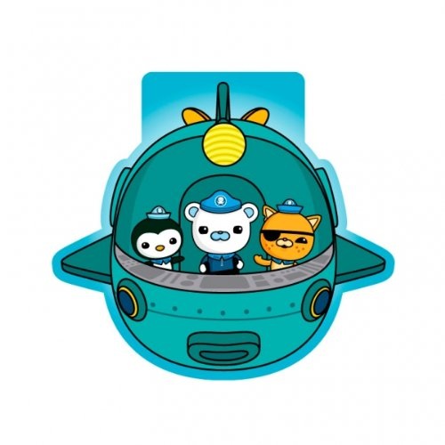 6 mini cahiers Octonauts Party Adventure