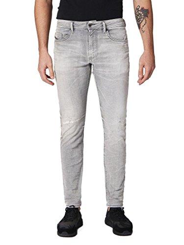 Diesel Herren Thommer Trousers Slim Jeans, Grau (Grau 7), W33/L32 (Herstellergröße: 33)