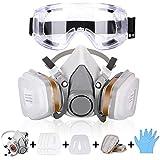 Atemschutzmaske Gasmaske mit Doppelfilterpatronen