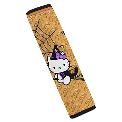 Hello Kitty Wizard NetCar - Spallacci per cintura di sicurezza, morbidi e confortevoli, per proteggere il collo e le spalle