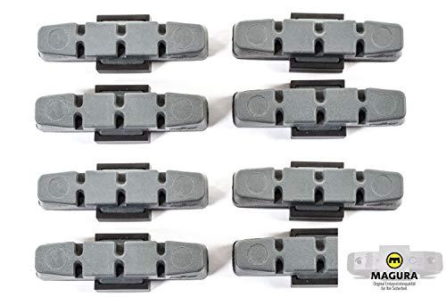 4 Paar MAGURA Original Brems Belag hydraulische Felgenbremse HS11 22 24 33 66 grau