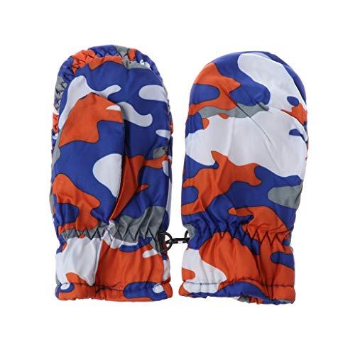 JunYe Skiën Handschoenen voor Kinderen, 2-5Y Kids Winter Warm Handschoenen Kinderen Jongens Meisjes Sneeuw Snowboard Ski Outdoor Handschoenen Waterdicht Winddicht - Roze