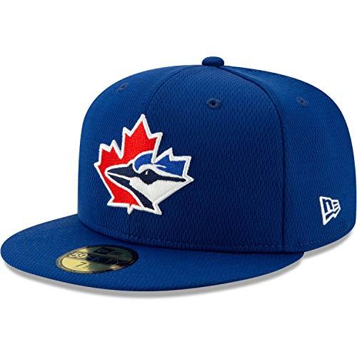 New Era 59Fifty Cap MLB Batting Practice Toronto Blue Jays Royale 63