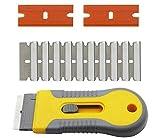 Ceramic Hotplate Hob or Glass Adjustable Oven Door Scraper/Cleaner/Cleaning Tool, Razor Blade Scraper Tool, Car Sticker Remover