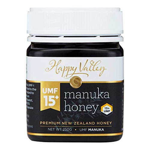 Happy Valley UMF 15+ (MGO 514+), Manuka roher Honig, 250g