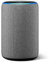 $129 » Echo (3rd Gen) Heather Gray Bundle with Philips Hue White 2-pack A19 Smart Bulbs, Bluetooth & Zigbee compatible (No Hub Required)