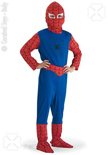 Costume Spider Boy, Taglia 6/7 anni