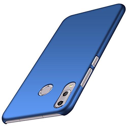 Anccer Cover Zenfone 5 ZE620KL [Serie Colorato] di Gomma Rigida Protezione Da Cadute e Urti Asus ZenFone 5Z ZS620KL (Azzurro liscio)