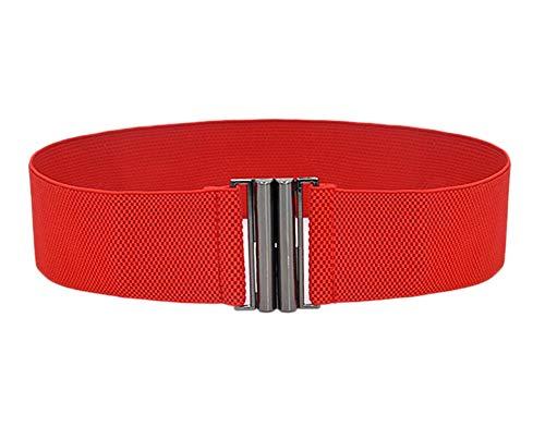 Oyccen Mujeres Cinturón Elástico Ancho Señoras Banda de Cintura del Vestido Cinturones Decorativo