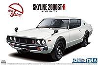 アオシマ ザモデルカーNo.15 ニッサン KPGC110 スカイラインHT2000GT-R '73
