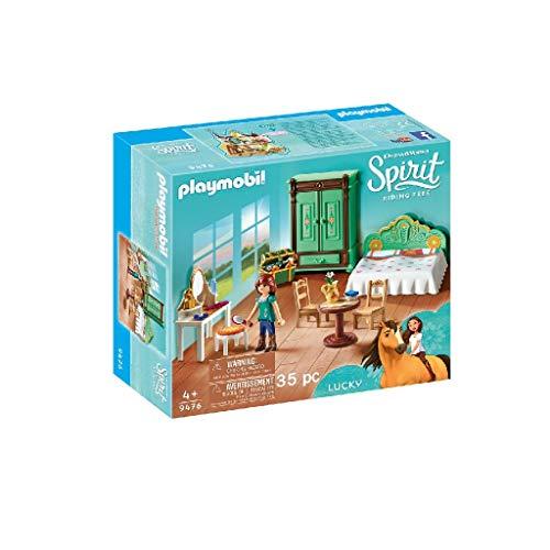 PLAYMOBIL DreamWorks Spirit 9476 Luckys Schlafzimmer, Ab 4 Jahren