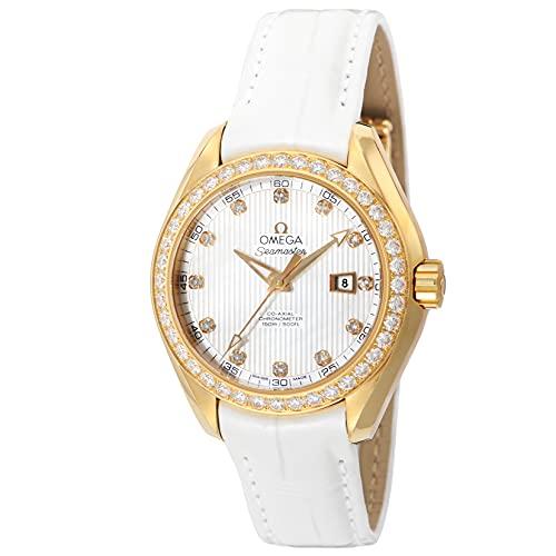 [OMEGA(オメガ)] 腕時計 シーマスター アクアテラ 231.58.34.20.55.001 レディース ホワイト [並行輸入品]