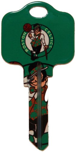 Kw1-Nba-Celtics Key Blank Painted Celtics