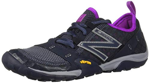 New Balance Women's Minimus 10 V1 Trail Running Shoe, Outerspace/Voltage Violet, 7 W US