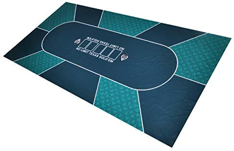GAMELAND Bullets Poker Mats Rectangle Rubber (Green)