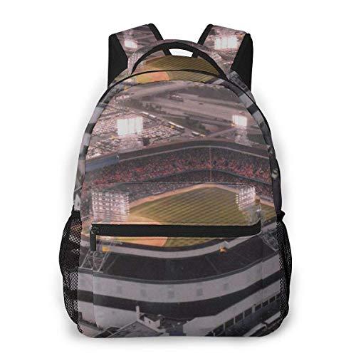 Multifunctional Casual Bapa,Fashion Trend Knapsa,Cute Bapa11.5' X 16' X 8'-Old Tigers Stadium,