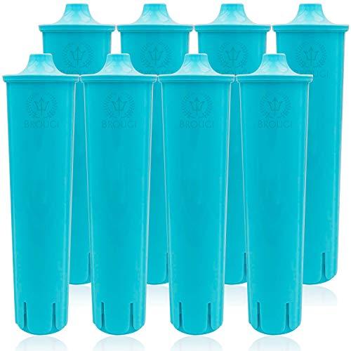 8 x Wasserfilter für JURA CLARIS BLUE Filterpatrone ENA 3, 5, 7, 9 Impressa A5 A9 C50 C55 F7 F8 J5 J7 J9 J9.2 J9.3 J9.4 J80 J85 Z7 Z9 Giga 5 Micro 1 5 8 Jura A1 A7 C60 Entkalker Filter