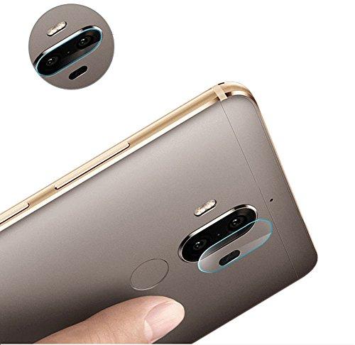 Distinct para Huawei Mate 9 cámara Trasera Suave de Cristal Templado Protector de la Pantalla de la Cubierta - 3pcs