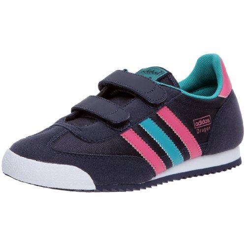 Adidas Originals-CMF Dragon J Zapatillas para niño, Azul (Marine/Rose/Bleu), 38