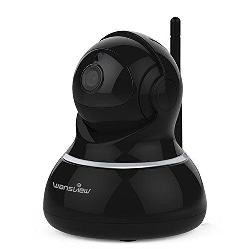 Wansview Wlan IP kamera, Schwenk- und Neige- WiFi IP...