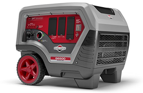 Briggs & Stratton 30675 Q6500 Inverter Generator - 6500 Starting Watts QuietPower Series Portable Generator for Home Backup
