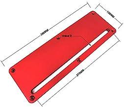X-BAOFU, 1PC aleación de Aluminio Circular Sierra eléctrica Cubierta del tirón Letrero conmutable Piso Mesa Especial Embedded cubreplaca Ajustable 45-90 Grados (Color : Model B)