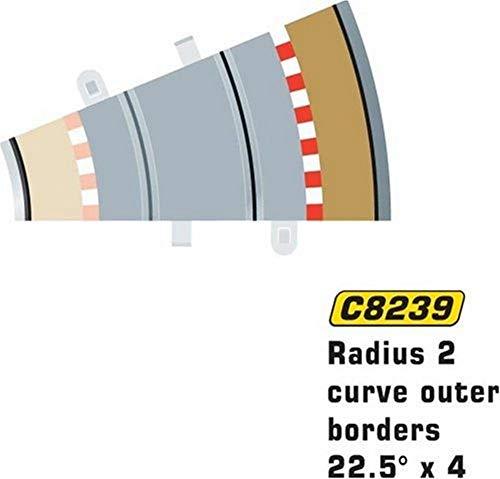 MKD - Circuit voitures - Bordures extérieur 1/2 R2